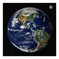 """Look at this amazing picture! Suggested: """"Earth from Space : Image of the Day :"""" from the NASA Earth Observatory Earth Poster, Apollo Missions, Nasa Missions, Image Nature, North And South America, Foto Art, Le Far West, To Infinity And Beyond, Our Planet"""