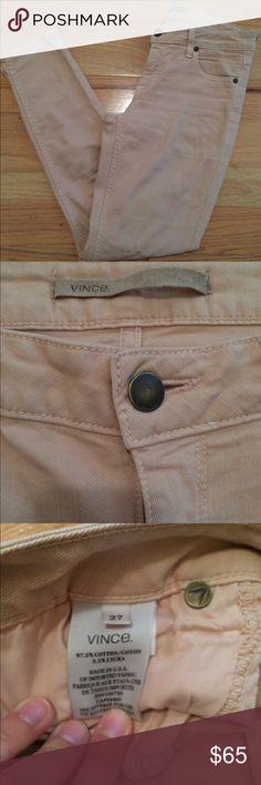 Vince blush pink skinny jean pants 27 Gorgeous EUC! Vince blush pink pants:jeans. Size 27. Vince Pants Ankle & Cropped