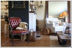The Old Painted Cottage house tour