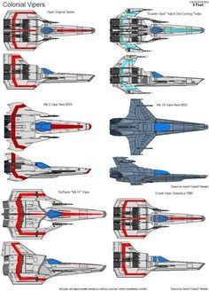 Vipers Spaceship Art, Spaceship Design, Spaceship Concept, Drones, Aliens, Kampfstern Galactica, Battlestar Galactica 1978, Space Fighter, Sci Fi Spaceships