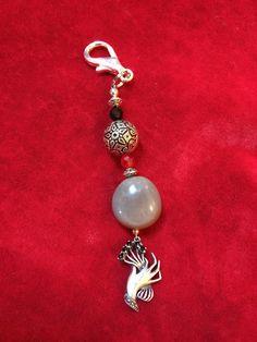 Nickarbean sea bean jewelry keychain
