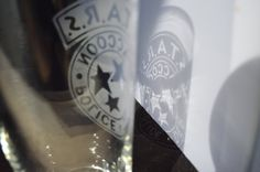 ÉTOILES resident evil pub verre par CustomShot sur Etsy