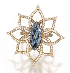 Magnificent and rare 3.18 carat fancy vivid blue diamond ring