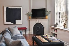 Image result for pre war fireplace