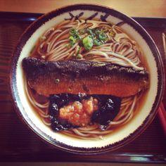 Enjoyed delicious soba at Izumo Shrine in Japan. It was sweet.
