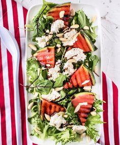 Caprese Salad, Cobb Salad, Salty Foods, Feta, Bbq, Food And Drink, Healthy Recipes, Baking, Food Food