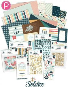 Pink Paislee Solstice Collection -- want!! #summer #nautical