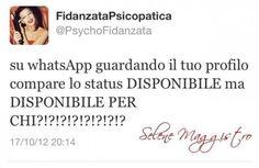 Conoscete la #fidanzata psicopatica? #love #whatsupp