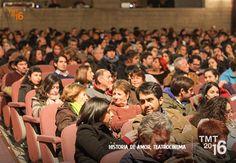 Público Asistente, TMT2016, Historia de Amor, Teatrocinema