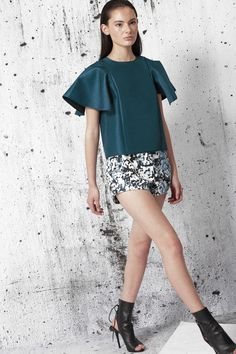 Cameo The Label | Psychic City Top | Petrol | FSHN BNKR | Shop Now |