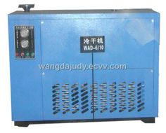 High Temperature Inlet Water-Cooled Refrigeration Air Dryer (WHAD) - China air dryer, Wangda Brand