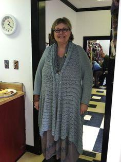 Etesian from Norah Gaughan vol. worn by Elizabeth at The Knitting Studio Studio, Knitting, Pattern, Sweaters, Fashion, Moda, Tricot, Fashion Styles, Stricken