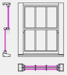 3440x1440 Wallpaper, Pink Wallpaper Backgrounds, Section Drawing, Window Detail, Sash Windows, Kids Bedroom, Doors, Mirror, Construction