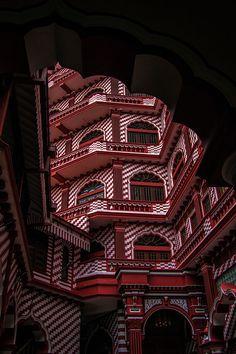Red Masjid Mosque - Pettah, Sri Lanka