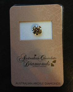 1.03ct Round Argyle Australian Chocolate diamond