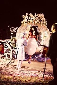 Fairytale wedding still believe in it! Maybe for my Asfa