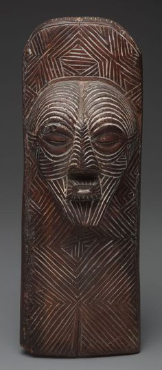 Kifwebe panel mask 15 x 5 1/2 x 4 1/4 (38.1 x 14 x 10.8 cm) Culture/People: Songye