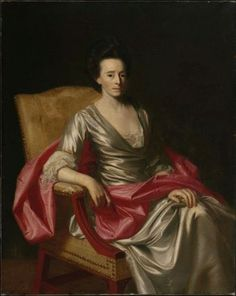 Mrs. Timothy Rogers (Lucy Boylston)  1766–67  John Singleton Copley, American, 1738–1815  DIMENSIONS  127.63 x 101.92 cm (50 1/4 x 40 1/8 in.)  MEDIUM OR TECHNIQUE  Oil on canvas  CLASSIFICATION  Paintings  ACCESSION NUMBER  1976.668  ON VIEW  Dola Hamilton Stembert Family Gallery (Behind the Scenes: Caring for Art) - 125A