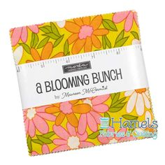 A Blooming Bunch precuts by Maureen McCormick for Moda