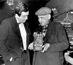 Stanley Kubrick et le photographe Weegee