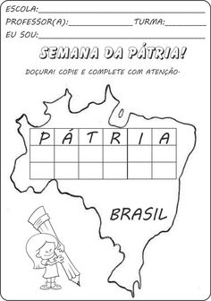 Atividades independência do Brasil ~ EDUCANDO COM AMOR 2013