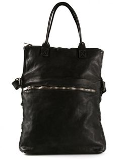 GUIDI - Leather Tote - MR09 BLKT - H. Lorenzo a7e46adaa5