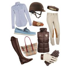 The most important role of equestrian clothing is for security Although horses can be trained they can be unforeseeable when provoked. Riders are susceptible while riding and handling horses, espec… Riding Hats, Riding Gear, Horse Riding, Riding Helmets, Equestrian Boots, Equestrian Outfits, Equestrian Style, Equestrian Fashion, Style Anglais