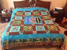 Finally made me & Tim a quilt!!!