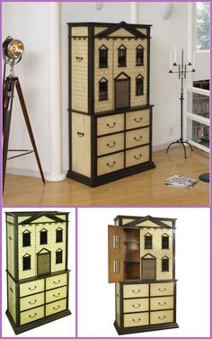 "A ""do-able"" miniature house for most little girls."