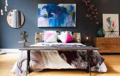 I recently partnered with CB2 and YOU to design this bedroom! Check out more on http://eye-swoon.com/cb2-pinterest-me-you/