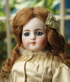 Sanctuary: A Marquis Cataloged Auction of Antique Dolls - March 19, 2016: Rare German Bisque Closed Mouth Child, Model 905, by Simon and Halbig