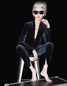 Le costume velours The Kooples AH 2015-2016 #trend #tendances #fashion #mode