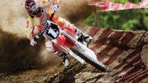 STRANGE MOTORCYCLE RACING FUN AND FROLIC   DIRT BIKE FUN