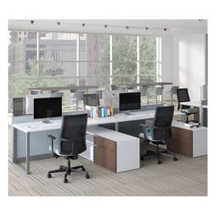 Modular Cubicles for Office  Office Spaces  Pinterest  Office