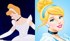 Cinderella classic and revamped <3 (probably the only revamp of all of them, that I don't like. At all. )