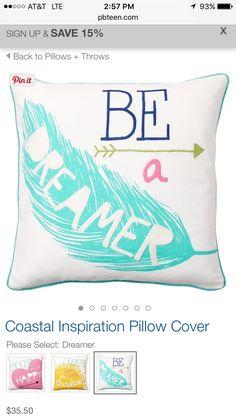 pbteen Pillow