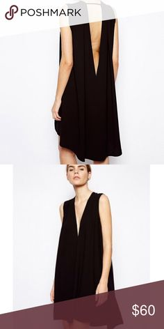 ASOS Plunge Dress Like new; bought on ASOS; brand is Poppi London; no trades ASOS Dresses