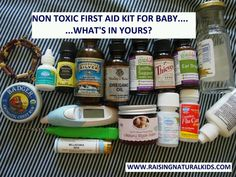 Non toxic first aid kit for babies