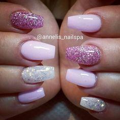 〰Pink/Glitter Nails〰 till @jamiesmamma  #pink #pinknails #glitternails #bling #nailfashion #nailpassion #nailaddict #nailobsessed #nailart #naildesign #nailinspo #nailswag #nailitdaily #naildiva #naildit #nails #lovenails #love #tmblrfeature #scra2ch #nailtech #gelnails #gelenaglar #naglar #naglarstockholm #nagelteknolog #annelis_nailspa