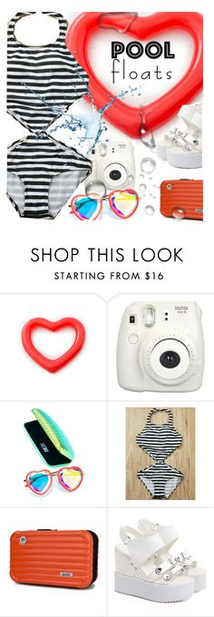 """""""Fun in the Sun: Pool Floats /2"""" by ansev ❤ liked on Polyvore featuring H0les, poolfloats and zaful"""