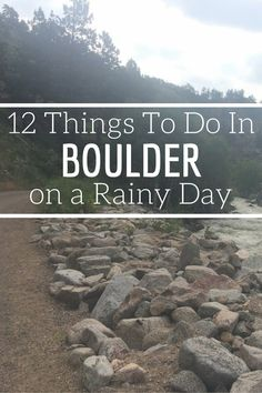 If you can't help but visit Boulder, Colorado during the rainiest months of April and May, here are 12 things to do in town on a Boulder rainy day. http://www.littlethingstravel.com