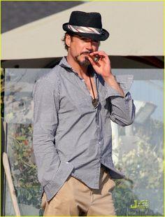 Robert Downey Jr.'s Memorial Day In Malibu