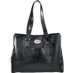 "New Kenneth Cole Reaction Handbag, Women Black 15"" Laptop Tote Bag #KennethColeReaction #TotesShoppers"