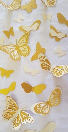Free Paper Flower Templates, Owl Templates, Applique Templates, Applique Patterns, Butterfly Project, Butterfly Wall Art, Paper Butterflies, Butterfly Mobile, Diy Cardstock Flowers