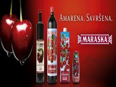 Maraska - AMARENA PREMIUM Vodka Bottle, Drinks, Cherry, Drinking, Beverages, Drink, Prunus, Beverage, Cocktails