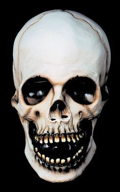 gothic skull mask, a must for everyday wear.