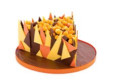 Creative Company | Katrien's Cakes: Triangles Creative Company, Cake Art, Triangles, Craft Projects, Birthday Cake, Cakes, Desserts, Food, Tailgate Desserts