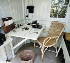 George Bernard Shaw, playwright. | 40 Inspiring Workspaces Of The Famously Creative