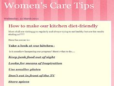 Women's Care Tips: Fitness Tips without Joining Gym http://easywomenscaretips.blogspot.com/2014/03/fitness-tips-without-joining-gym.html?spref=tw