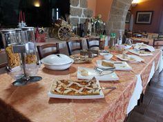 La nostra ricca colazione a buffet -  Our rich breakfast buffet